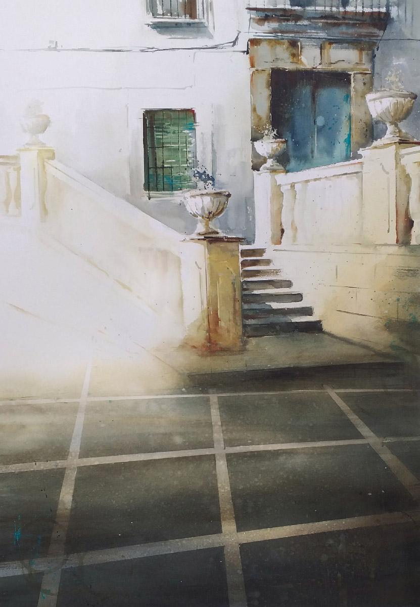 1er PREMIO - I Concurso de Pintura Rápida Cortes de la Frontera