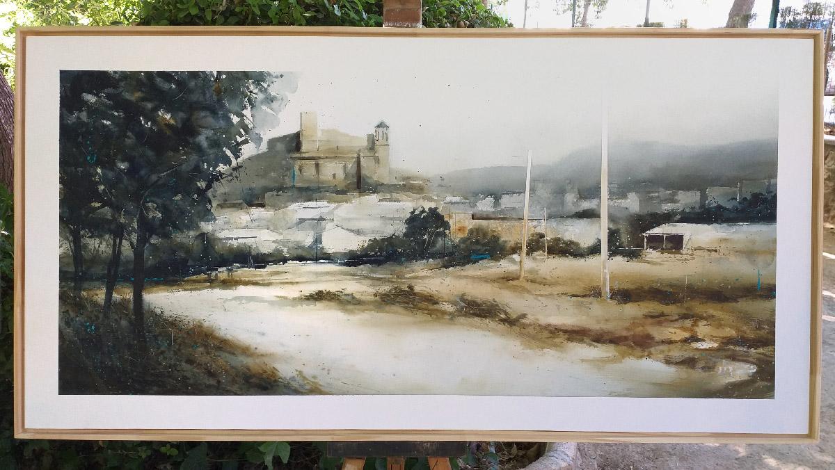 2ºPREMIO ACUARELA - XXI Concurso Nacional de Pintura Rápida Ciudad de Alcaudete