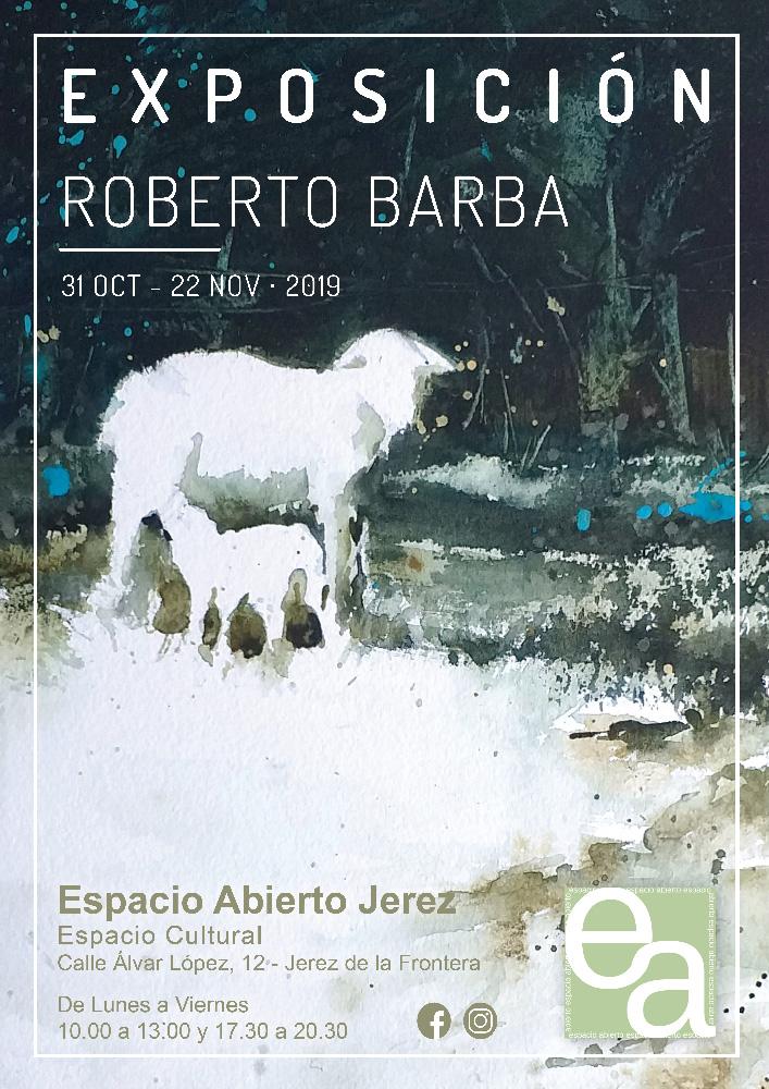 Exposicion Roberto Barba - Acuarelas - Jerez de la Frontera